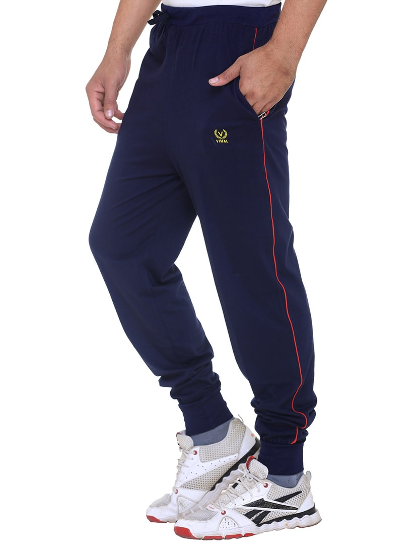 3590292225b ... multi colored cotton ankle length track pant - 11462204 - Zoom Image - 7