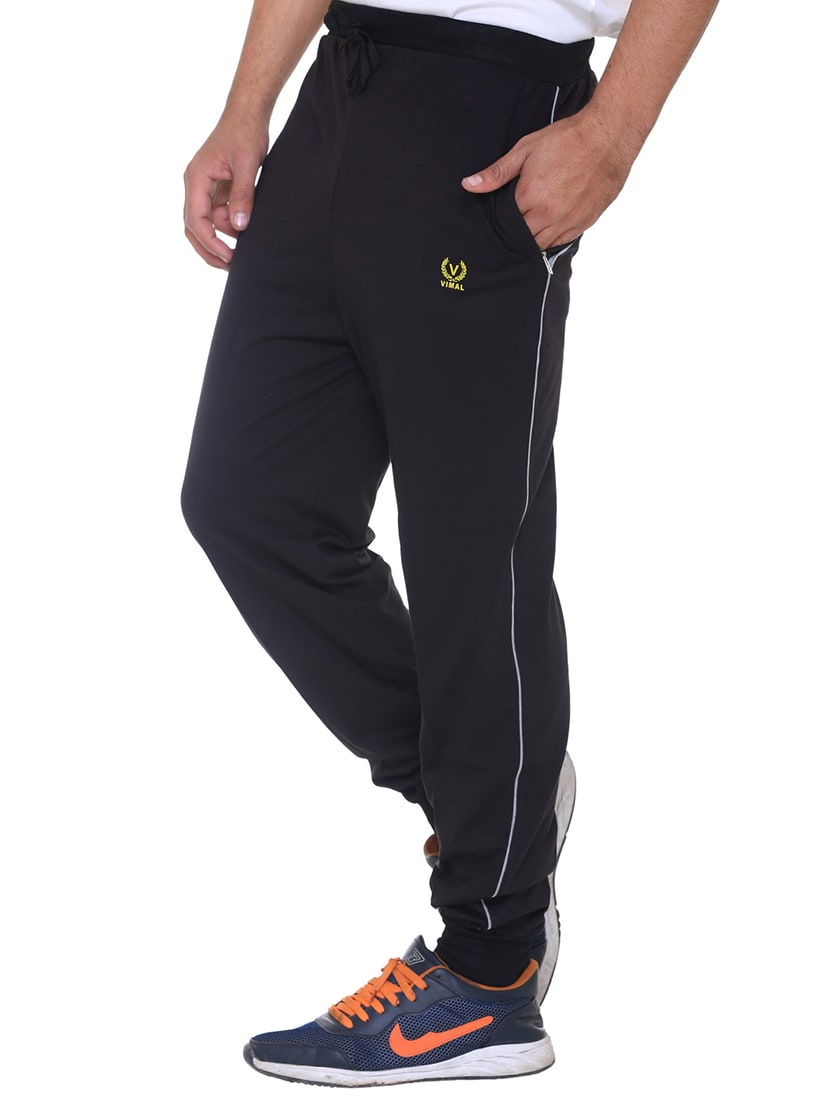 e498bc7be75 ... multi colored cotton ankle length track pant - 11462215 - Zoom Image - 7