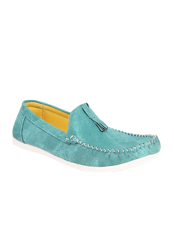 d7b3be3e8a9 Buy Turquoise Blue Leatherette Slip On Loafer for Men from Quarks for ₹493  at 1% off