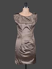 Grey Multi Blend Shift Dress - SPECIES