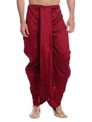 red cotton  dhoti -  online shopping for Dhoti