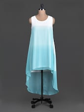 Sleeveless Ombre Asymmetric Dress - Label VR
