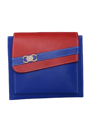 blue leatherette sling bag -  online shopping for sling bags