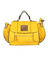 Rectangle Shape Solid Color Sling Bag - KIARA