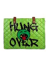 Green Hungover Flex Laptop Sleeve - THE BACKBENCHER