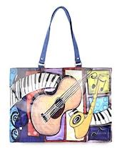 Multicolor Pop Art Flex Tote Bag - THE BACKBENCHER