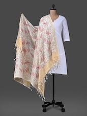 Multicolour Printed Poly Silk Dupatta - Inara Robes
