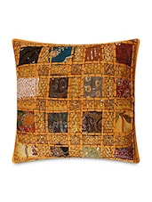 Multicolored Pure Cotton  Jaipuri  Cushion Cover Set - By