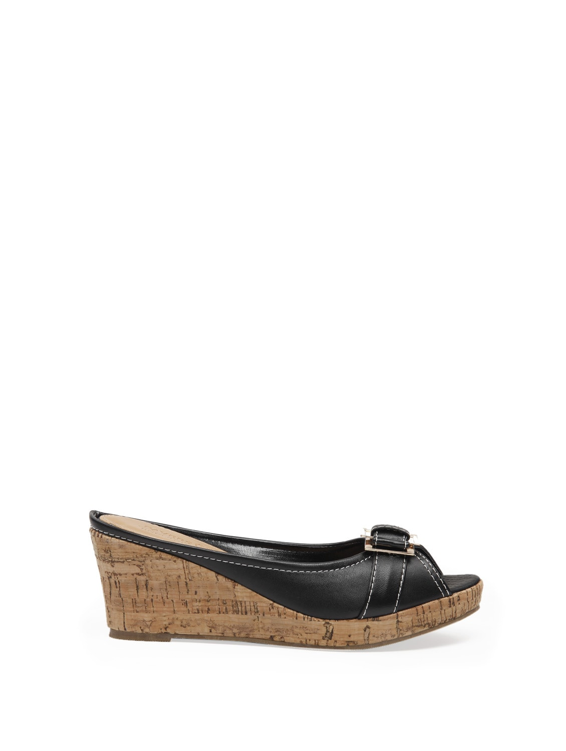 57d96eef9062 Buy Black Wedge Mules for Women from Pavers England for ₹1999 at 0% off