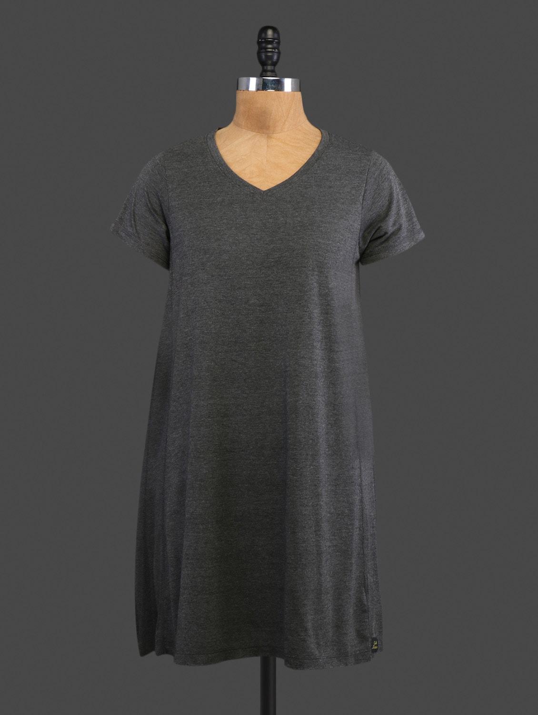 Grey Plain Cotton Top - CULT FICTION