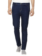blue cotton regular jean -  online shopping for Jeans