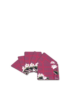 Lotus Love Coasters (Set Of 6) - India Circus