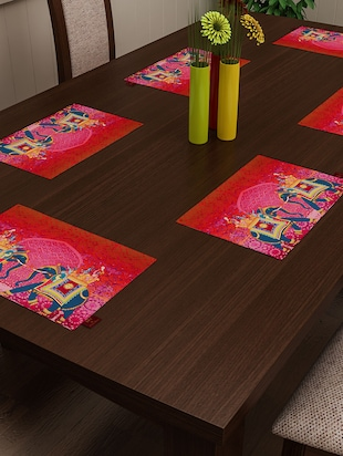 Dining Table Mats Buy Dining Table Mats Online At Best