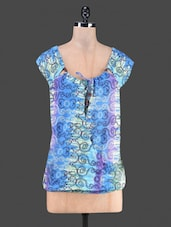 Printed Cotton Top - By