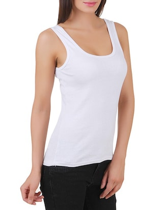multi colored cotton tank tee set of 5 - 11707306 - Standard Image - 4