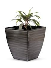 Frustum Shape Texture Iron Planter - Magnolia Kreations