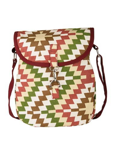 multi canvas sling bag - 11734885 - Standard Image - 1