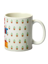 Multicolour Ceramic The Best Is Yet To Come Mug - DESIGN GUNS