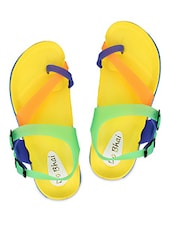 Multicoloured Casual Flipflops - 2B Collection