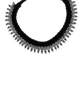Black Brass Necklace - By