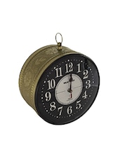 Antique Gold Vintage Station Analog Wall Clock - By