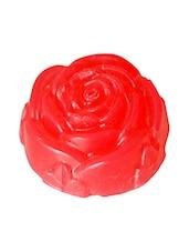 Red Glycerine Based(Rose Geranium) Soap - By