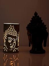 Brown Buddha Iron Table Lamp - HOD Lights