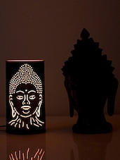 Black Buddha Iron Table Lamp - HOD Lights