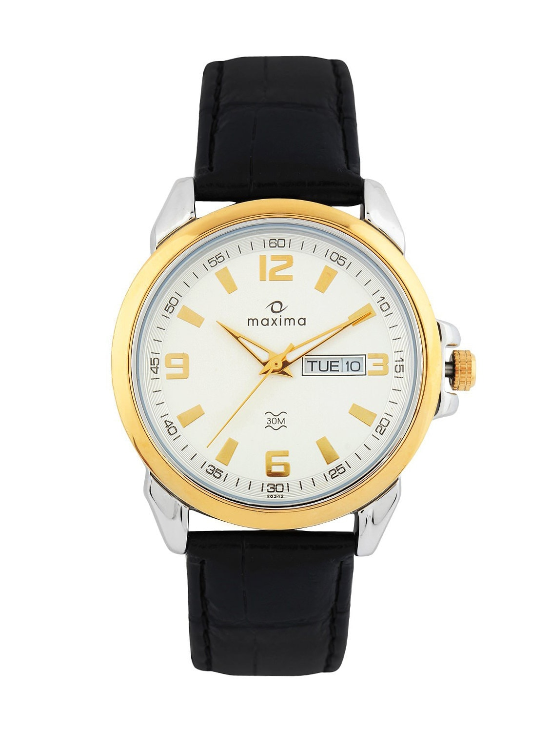 designer maxima for india gold steel mens analogue women details stainless hand wrist online watches champ formal prices
