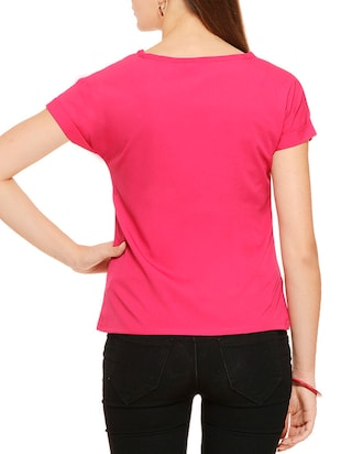multi colored polyester regular top - 11910589 - Standard Image - 7
