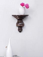 Solid Wood Shelf Rack Wall Bracket - Centenarian Art & Crafts