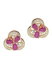 Embellished Changeable 3 Sided Earrings - Roshni Creations