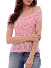 pink none regular top -  online shopping for Tops