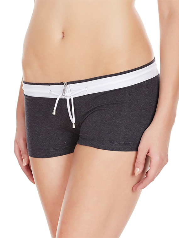 5359c60f5 Buy Black Cotton Boy Shorts Panty for Women from Laintimo for ₹390 at 70%  off