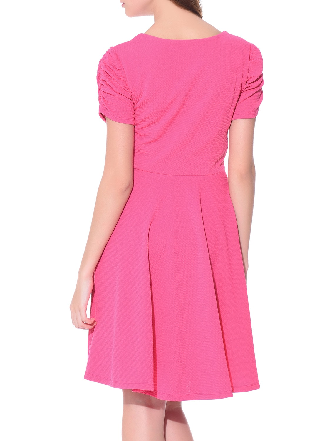 7638476a7a8 Buy Solid Pink Dress for Women from Aara for ₹782 at 51% off | 2019  Limeroad.com