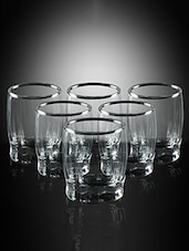 Pasabahce Dance Liquer 55 cc Shot Glasses - Set of 6 -  online shopping for Glass Sets
