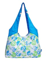 Multicolored Printed Canvas Bag - By