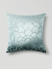 Green Poly Cotton Set Of 5 Cushion Covers - By