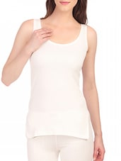 white cotton thermal vest -  online shopping for Thermals & Inner Wear
