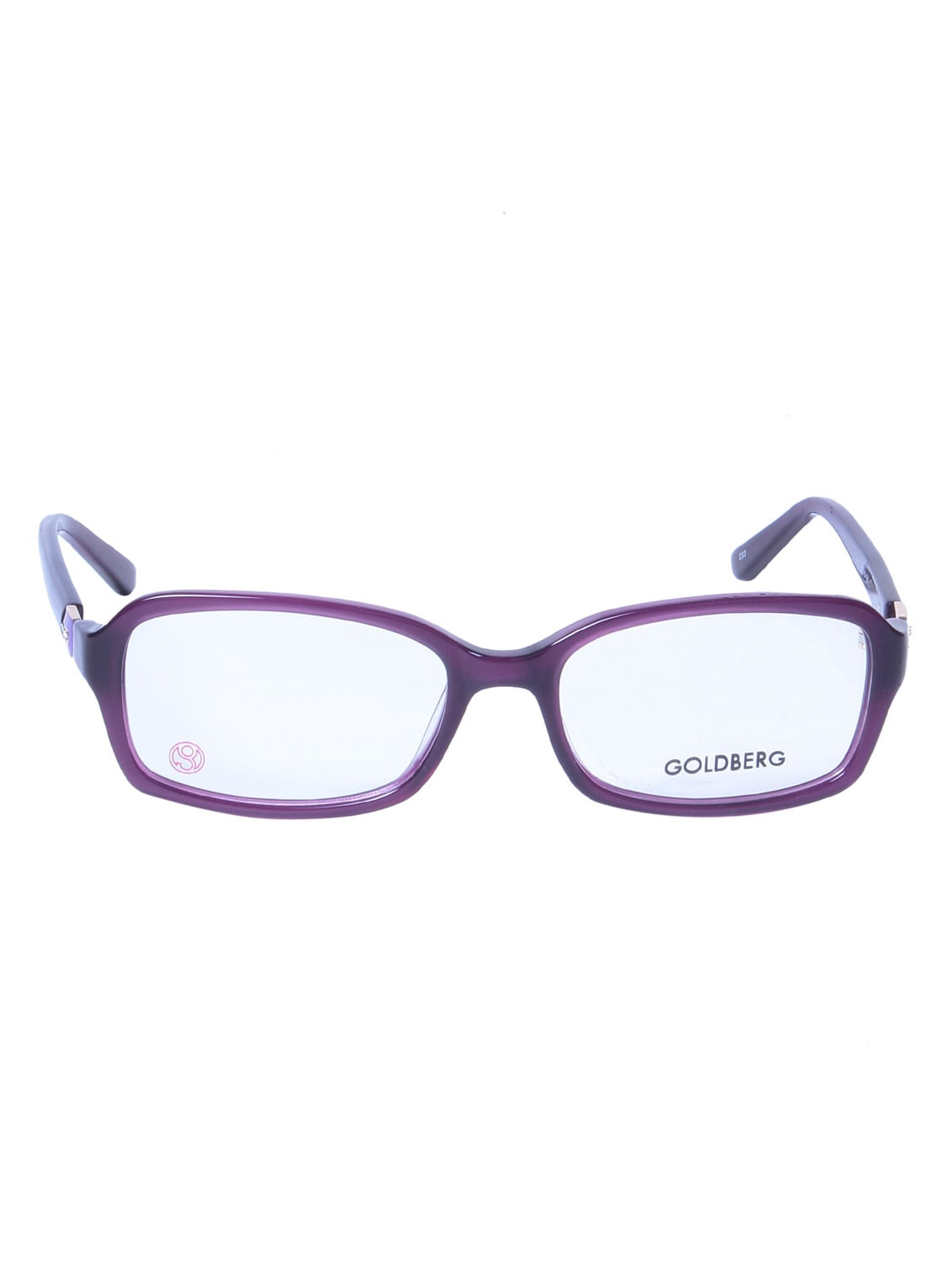 Buy Purple Plastic Cat Eyes Spectacle Frame By Gold Berg Online