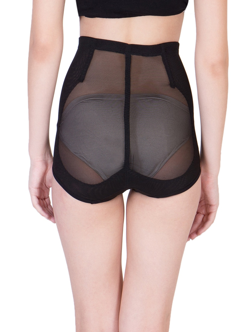 70e9d3a9bd Buy Black Nylon Brief Shapewear by American-elm - Online shopping for  Shapewear in India