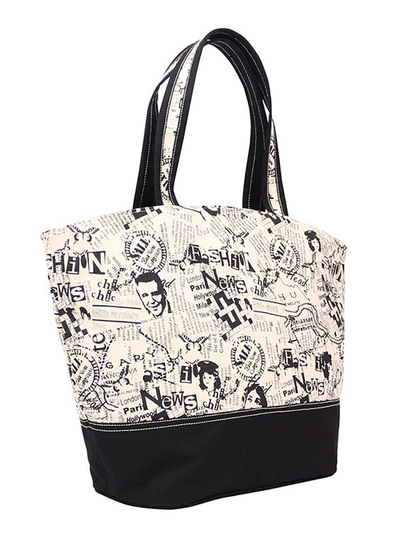 06f6ee5bd525 Buy Multi Printed Canvas Tote by Anges Bags - Online shopping for Totes in  India