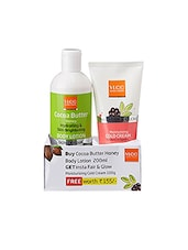 VLCC Cocoa Butterhoney Body Lotion 200ml With Free  Insta Fair And Glow Moisturizing Cold Cream 100 Gm - By