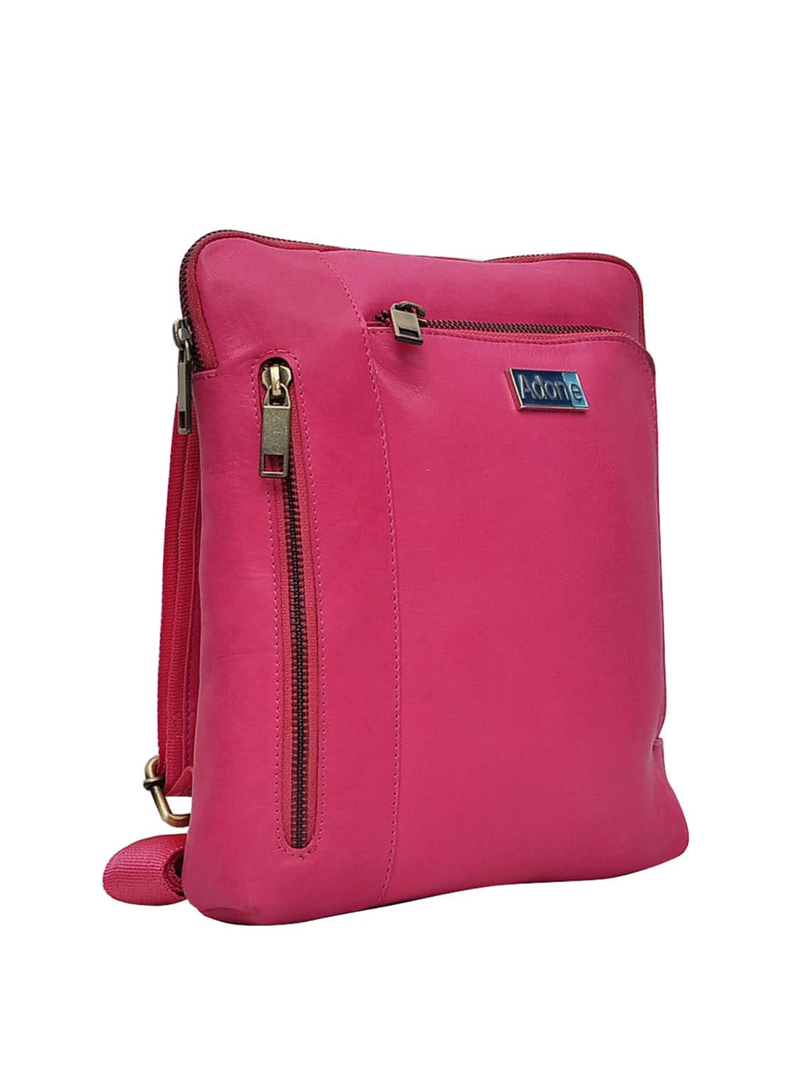 ce188cb9f953 Buy Pink Leather Sling Bag by Adone - Online shopping for Sling Bags in  India