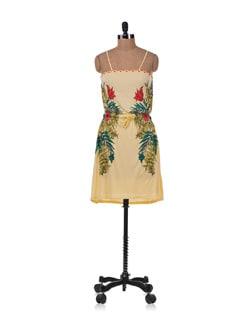 Multicolored Strappy Dress - Allen Solly