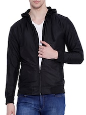 black cotton casual jacket -  online shopping for Casual Jacket
