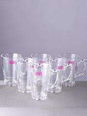 Transparent Coffee Mug (Set Of 6) - By