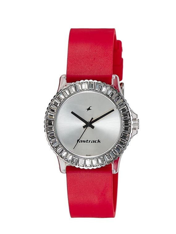 2e3f5e7e1 Buy Fastrack Analog Silver Dial Women s Watch - Ne9827pp08j for Women from  Fastrack for ₹1819 at 4% off
