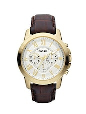 Fossil Grant FS4767 Men's Chronograph Watch -  online shopping for Chronograph Watches