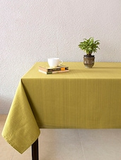 House This Frida Sombre 100% Cotton Table Cover - Green - By